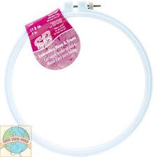 "Susan Bates Cross Stitch Embroidery Hoop ~ Color Plastic Luxite 7"" #143997"