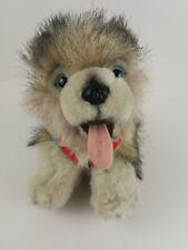 Kipmik Plush Alaskan Husky Sled Dog Puppy w/ Harness