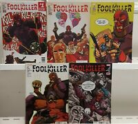 Foolkiller 1 2 3 4 5 Complete Set Series Run Lot 1-5 VF/NM