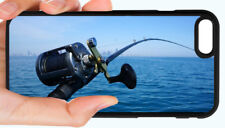 BASS FISHING ANGLER PHONE CASE COVER FOR IPHONE XS MAX X 8 7 6S 6 PLUS 5S 5C 4S