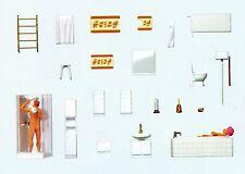 Married Couple in Bathroom Preiser 10631 figures gauge H0(0 21/32in)