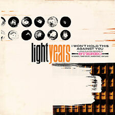 LIGHT YEARS I Won't Hold This Against You FROSTED CLEAR LP, UK press - NEW