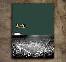 "Green Bay Packers Sports Poster NFL Art Print Rare Hot New 12x16"""