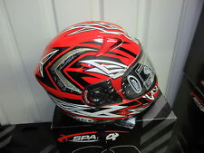 Spada full face helmet RP800 in red/silver small Brand new save 50% off RRP