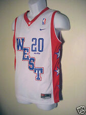 Authentic  All Star West Jersey Los Angeles Lakers PAYTON #20 Youth Med NWT