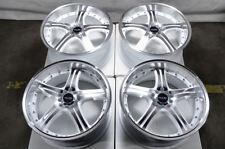 "18"" Wheels Fit Honda Accord Civic Corolla Elantra Sedona Rx350 White Rims 5 Lugs"
