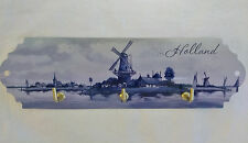 "Heinen Delftware ""Holland Scene"" Metal Kitchen Hanger F 00004000 or Your Keys, Hats, etc."