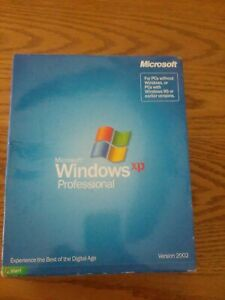 MICROSOFT WINDOWS XP PROFESSIONAL VERSION 2002 BRAND NEW IN BOX