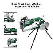 Shoe Repair Sewing Machine | Manual Dual Cotton Nylon Line Rubber & Leather
