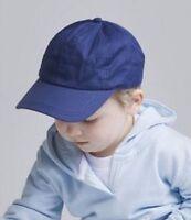 Baby Toddler Kids Peaked Baseball Summer Cap Hat Boys Girls Pink White Blue Navy