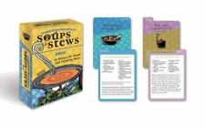 Moosewood Restaurant Soups and Stews Deck: 50 recipes for simple and satisfying