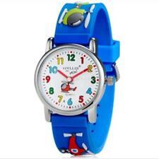 Children 3D Strap Wristwatch Helicopter Design Fashion Boys Gift Watch For Kids