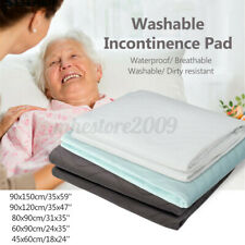 Reusable Washable Bed Pad Hospital Grade Incontinence Waterproof Adult