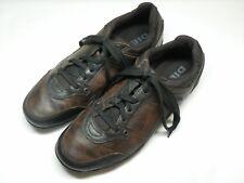 Men's DIESEL Brown Leather Sneakers 10 M