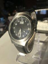 TCM QUARTZ dresswatch in acciaio inox Hau data nuova Bat GERMANY