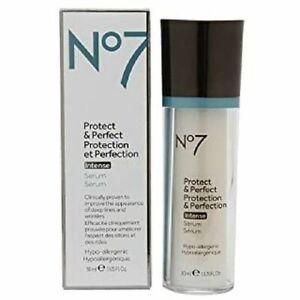 No7 Protect & Perfect Intense Serum 1 oz (30ml) - New - Free Shipping