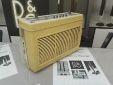 B&O BANG AND OLUFSEN VINTAGE 1964 BEOLIT 600 PORTABLE RADIO