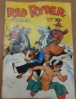 RED RYDER COMICS #9 (DELL) 1942/ COMPLETE/ LOW GRADE