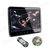 """XTRONS 10.1"""" Car Headrest TV Screen Touch Panel CD DVD Game Player IR Headphones"""
