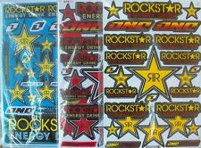 3 x ROCKSTAR Energy Supercross Sticker Aufkleber 27 x 18 cm 33 37 36