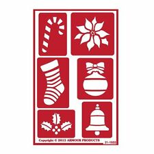 Armour Reusable Over n Over Glass Etching Stencil - ONO Christmas 2