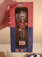 2019 7 Line Army Mr. Met New York Mets Mascot BobbleHead RARE SPECIAL SGA