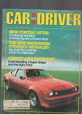 Car and Driver Magazine February 1977 Hornet AMX Pontiac Astre