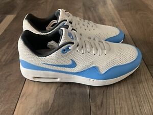Nike Air Max 1 G Golf Shoes Mens 9.5 White University Blue Lace Up Synthetic
