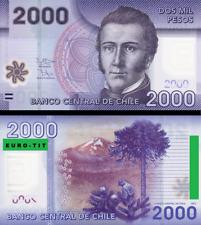 A SAISIR   BILLET  DE    2000   PESOS    2009    .CHILI  .  AMERIQUE DU SUD