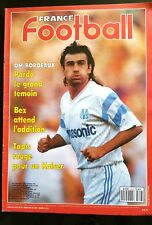 FRANCE FOOTBALL 30//06//1987; Coupe America; Argentine// Battiston// Nice// Brest