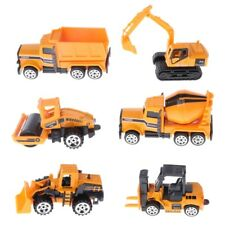6pc/set Engineering Car Tractor Toy Model Farm Vehicle  Car Model Children Gifts