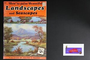 💎ART BOOK PUBLISHED BY WALTER FOSTER BEAUTIFUL LANDSCAPES & SEASCAPES💎