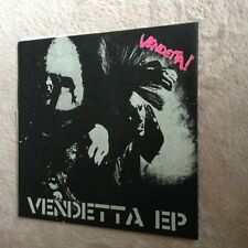 "Vendetta! - S/T EP 7"" (Punk/D-Beat/Disclose/Lipcream/Gism/Discharge/Kaaos/GBH)"
