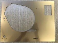 Thorens TD 160 'B & super' Silver Pearl TOP PLATE no Lift no screw holes TD160