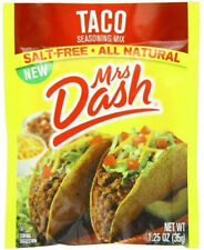 Mrs. Dash Seasoning Mix, Taco, 1.25 Ounce (Pack of 6)
