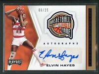 2019-20 ELVIN HAYES 06/25 AUTO PANINI CHRONICLES PLAYOFF AUTOGRAPHS