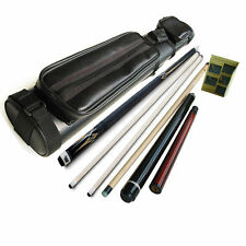 Champion Gn-905 2 Shaft Pool Cue, Jump and break cue,2X2 Cue Case,Predator glove