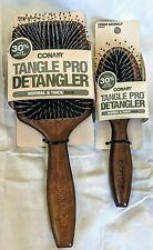 Conair Tangle Pro Detangler Hair Brush + Travel Size Brush Wet/Dry