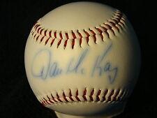 Dave McKay St Louis Cardinals Coach Autographed Official League Ball