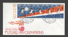 MARSHALL ISLANDS 1988 OLYMPIC GAMES, SEOUL **UNADDRESSED FDC**
