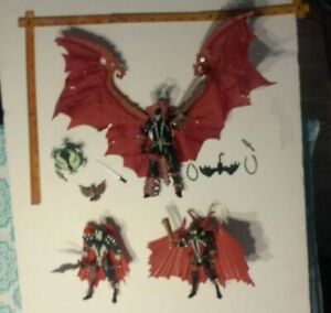 Spawn Action Figure lot of 3  Beautiful!! No box. NR