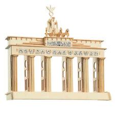 Brandenburger Tor 3D Holzbausatz Wahrzeichen Berlin Mauer BRD Holzpuzzle P078