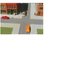 CITY SIDEWALKS KIT HO 1:87 SCALE LAYOUT DIORAMA RIX SMALLTOWN 7000