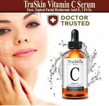 TruSkin Vitamin C Serum Face, Topical Facial Hyaluronic Acid E, Free shipping