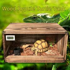 Large Reptile Enclosure Cage Lizard Frog Pet Snake Terrarium Tank Breeding Box