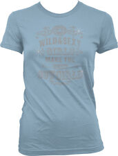 Wild & Sexy Girls Make The Best Cowgirls Southern Country Juniors T-shirt