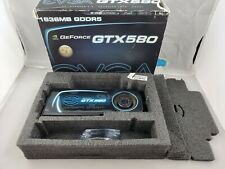Nvidia GeForce GTX580 1536MB GDDR5 1.5GB Graphics Card with Adapter in Box