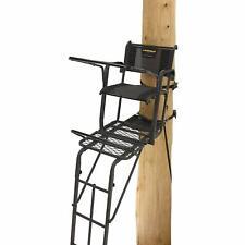 Ladder Treestand Deer Hunting Tree Stand Safe Comfortable Cockpit Ladderstand