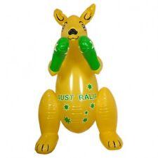 Australian Souvenir Supporter Blow Up Inflatable Large 1mt Boxing Kangaroo
