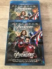 The Avenger's Blu Ray Slipcover 2 Disc Set Bilangual Rare